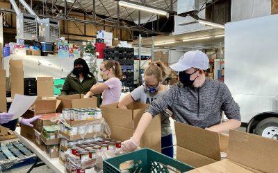 Volunteers Needed to Pack Food Boxes