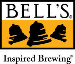 Bell's Brewery logo; 3 bells on a yellow background