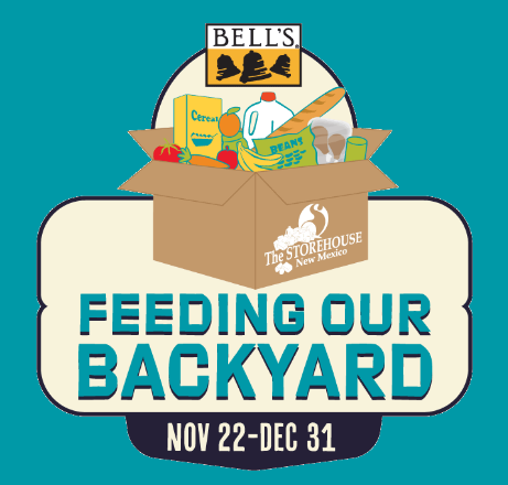 Bell's Brewery Feeding Our Backyard graphic.