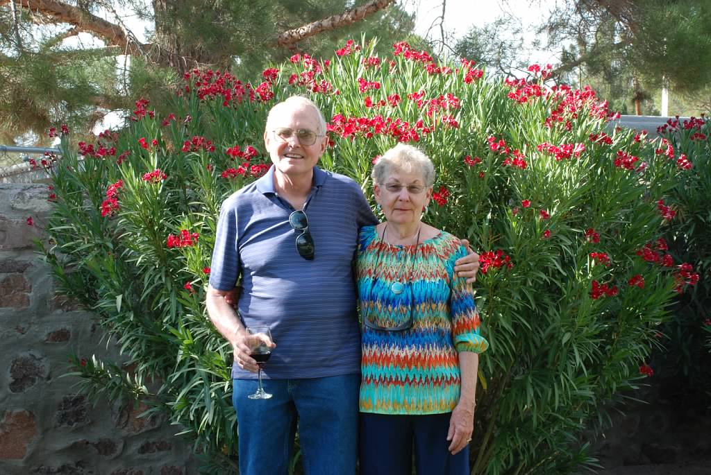 Ed and Jane McCullough, donors to the Storehouse NM FACE the Hunger Challenge 2021