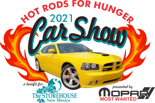 Hot Rods for Hunger Car Show event logo