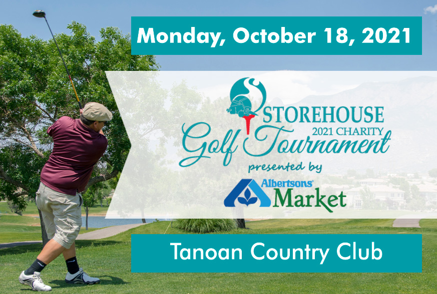 Golf Tournament at Tanoan Country Club will benefit the Storehouse.